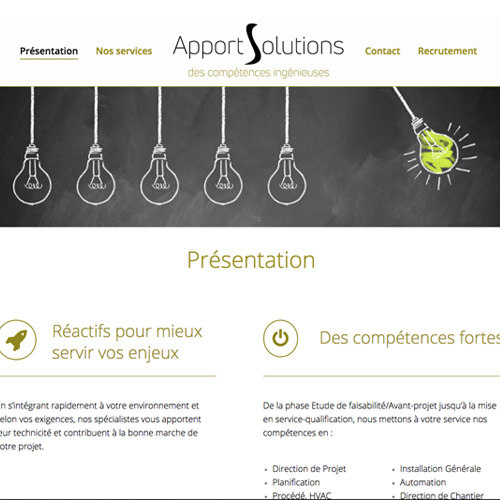 Site Apport Solutions